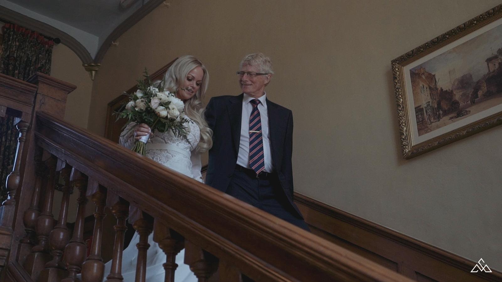 Holkwold Hall Wedding Video Leslie and Dean