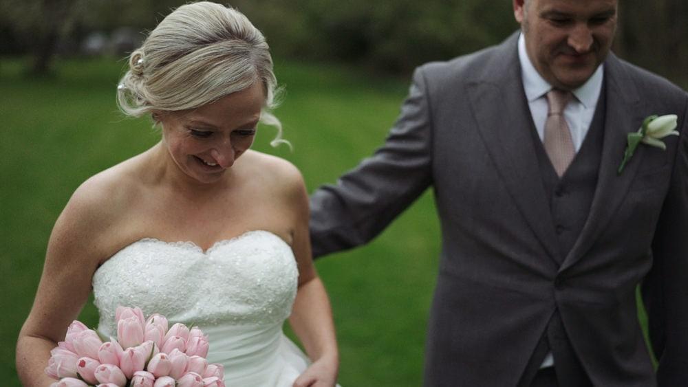 Essex Wedding Videographer White Hart Caryn David