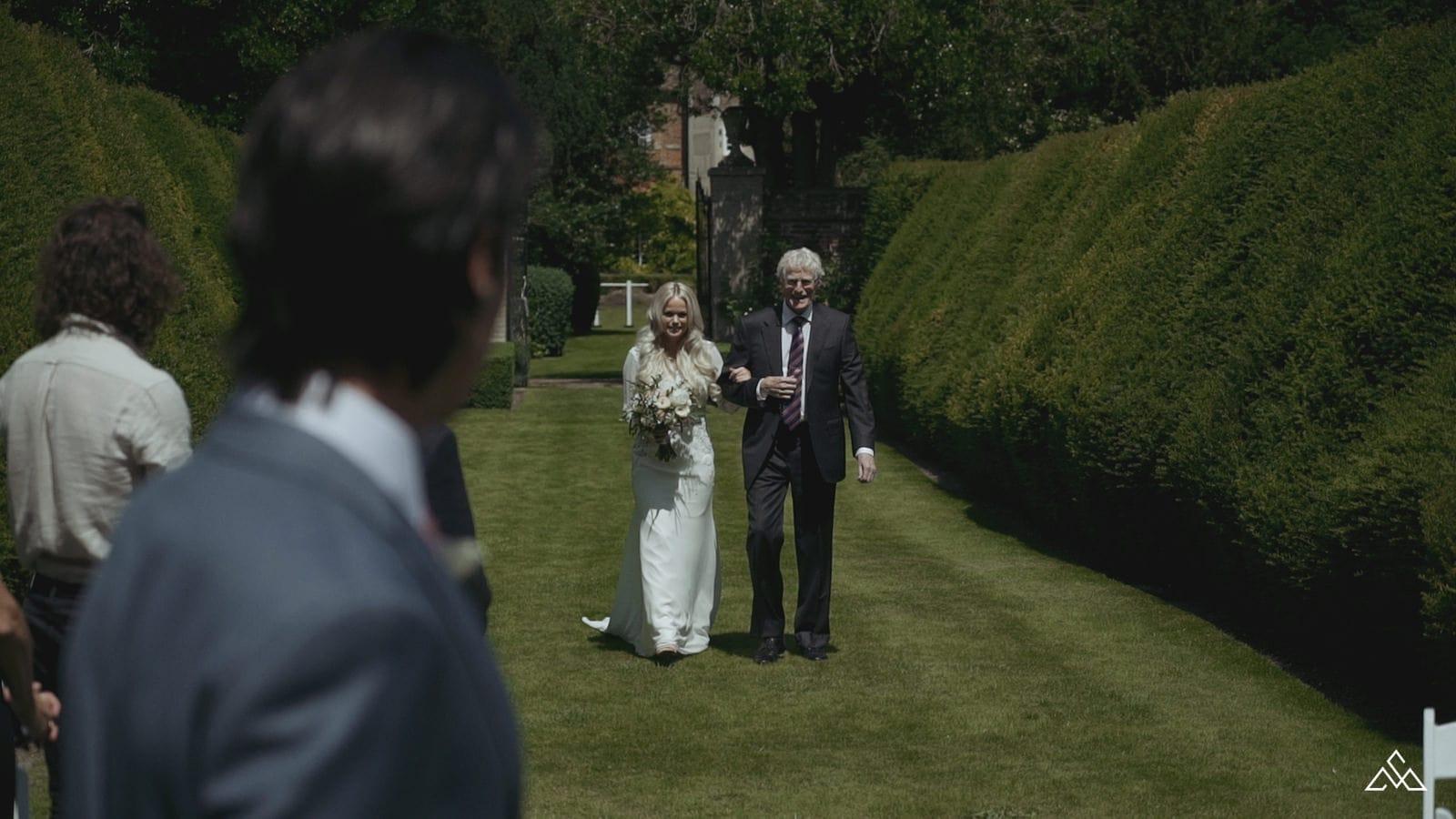 Holkwold Hall Wedding Film Leslie and Dean