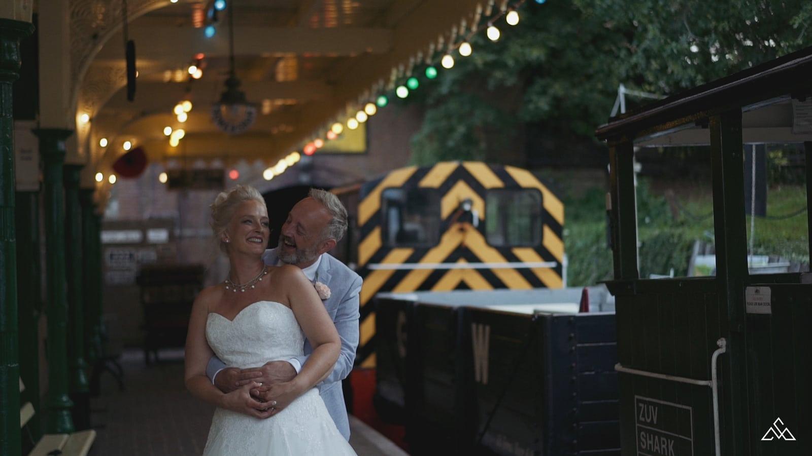 Fawley Hill Wedding film Karen and Michael