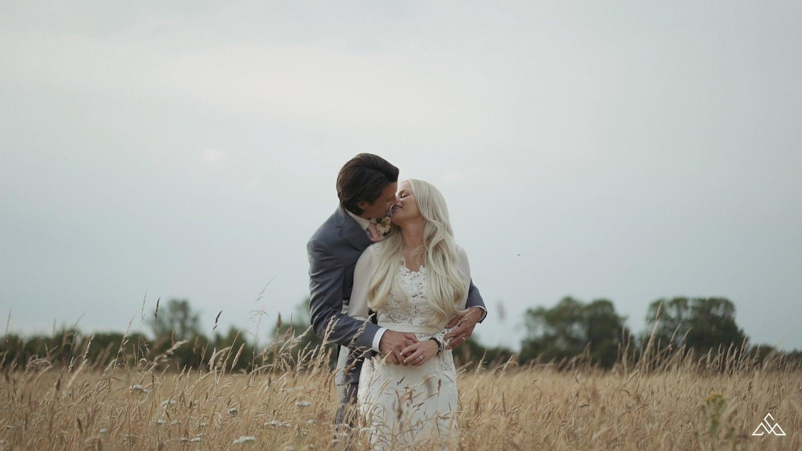 Hockwold Hall Outdoor Wedding Leslie and Dean
