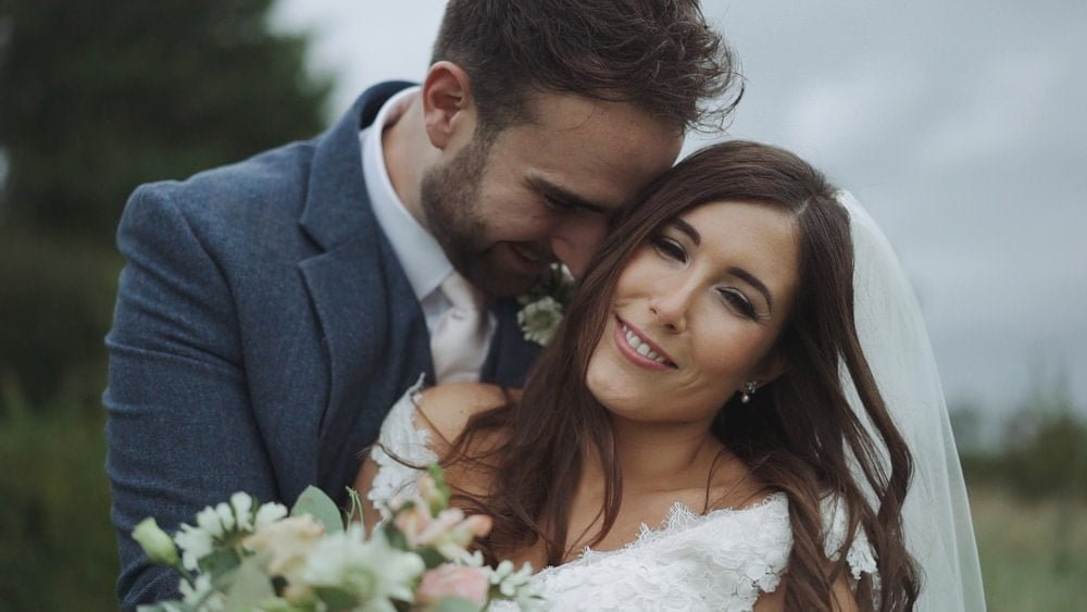 Cambridgeshire wedding videographer south farm jade grahame