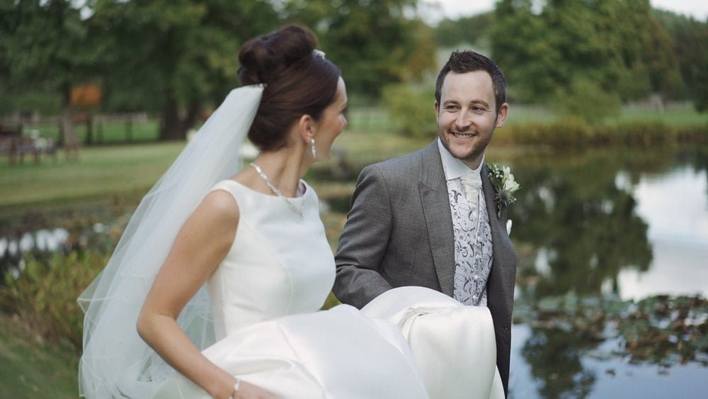 norfolk barn wedding videographer sonia craig
