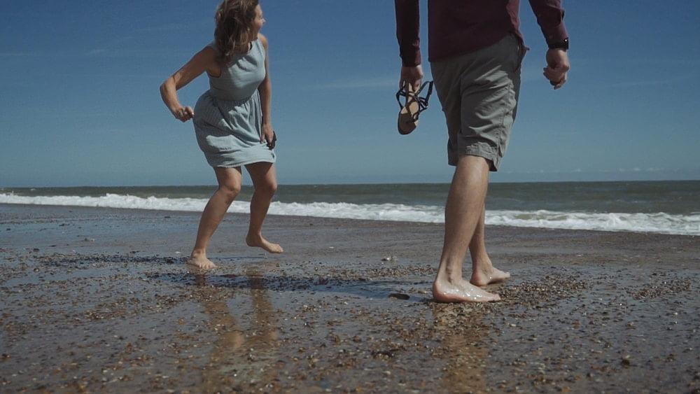 norfolk beach engagement love story donna james