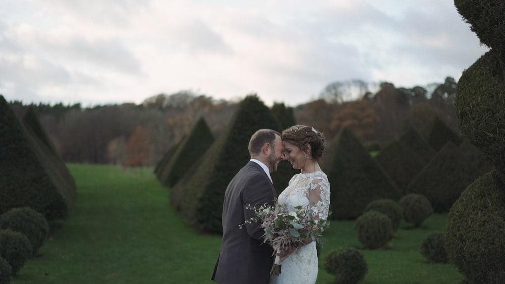 norfolk wedding videographer chaucer barn rebecca steve