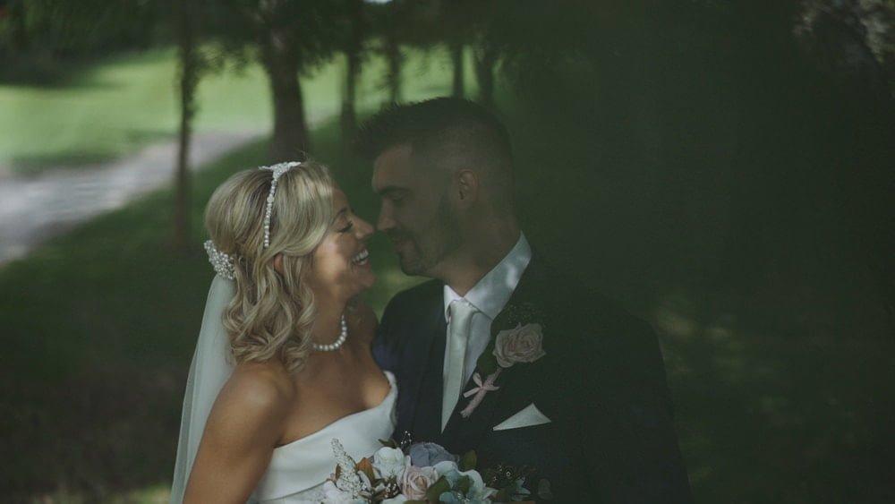 norfolk wedding videographer barnham broom victoria toby