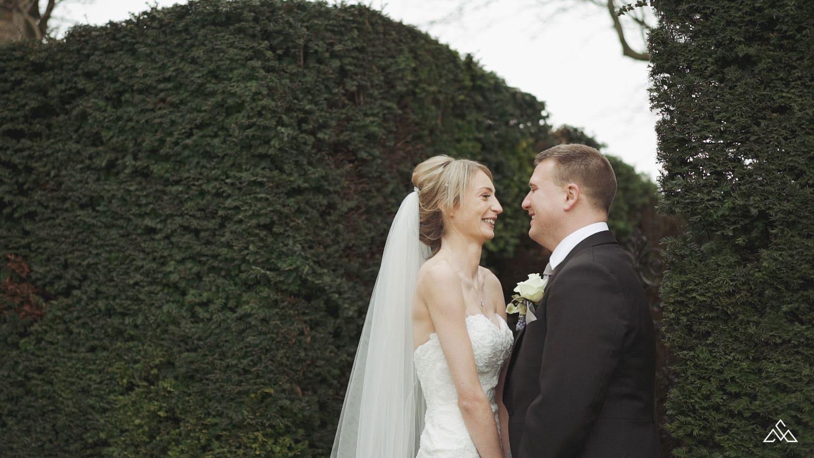 Winter Hengrave Hall Wedding Film Kirstie and Adam