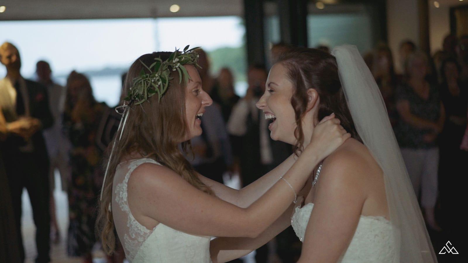 The Boathouse Same Sex Wedding Film Alex and Emily