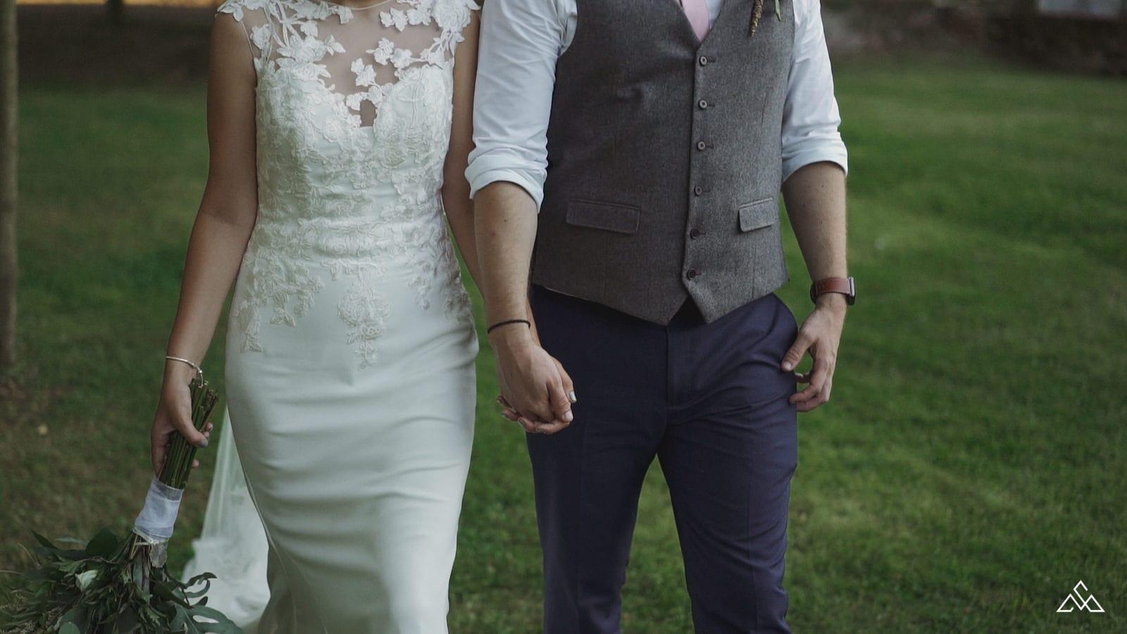 Best Suffolk Wedding Videographer The Tudor Barn