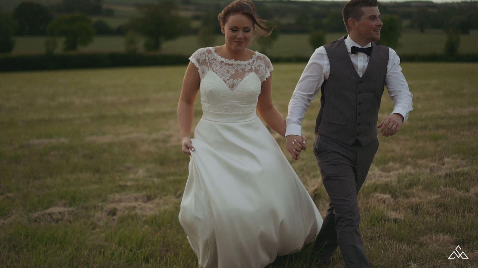 Bedfordshire Wedding Videographer Eastfields Farm Barn