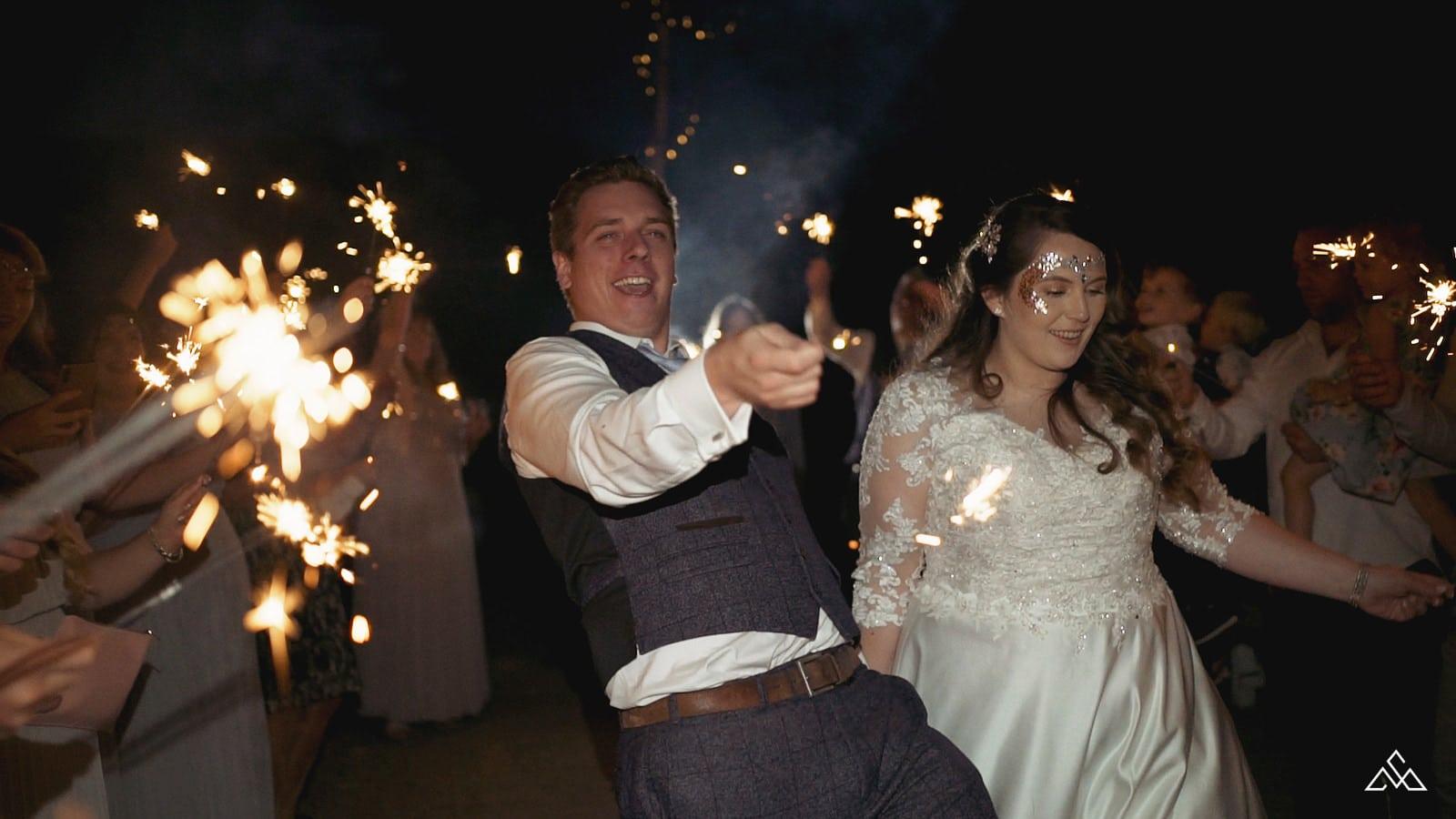 Norfolk Wedding Videographer Glebe Farm Barn