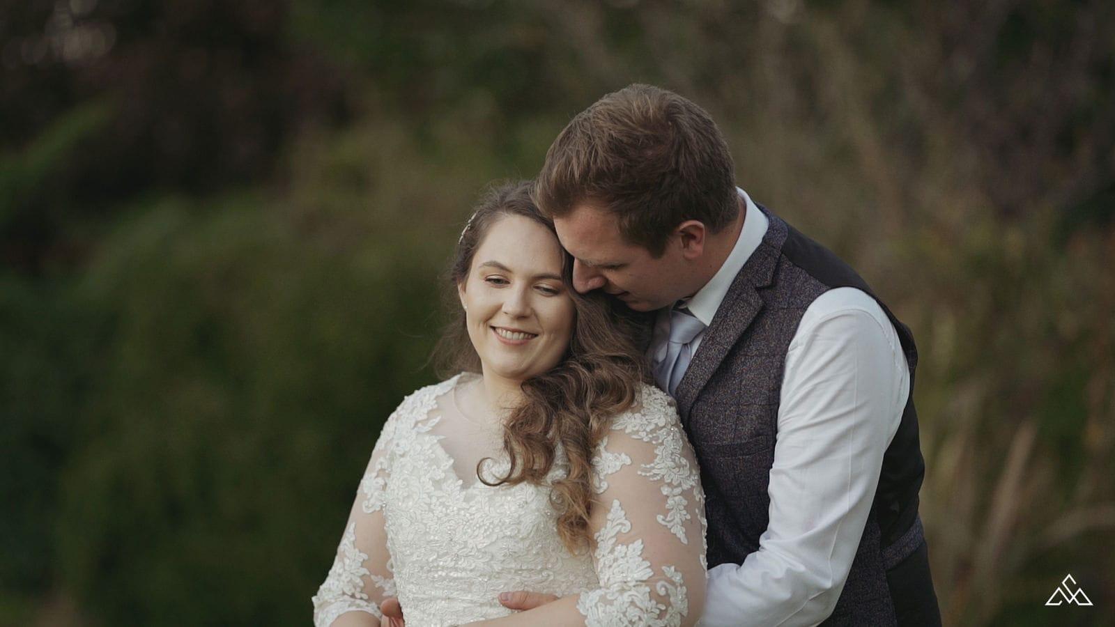 Glebe Farm Barn Wedding Video Joely and Tim