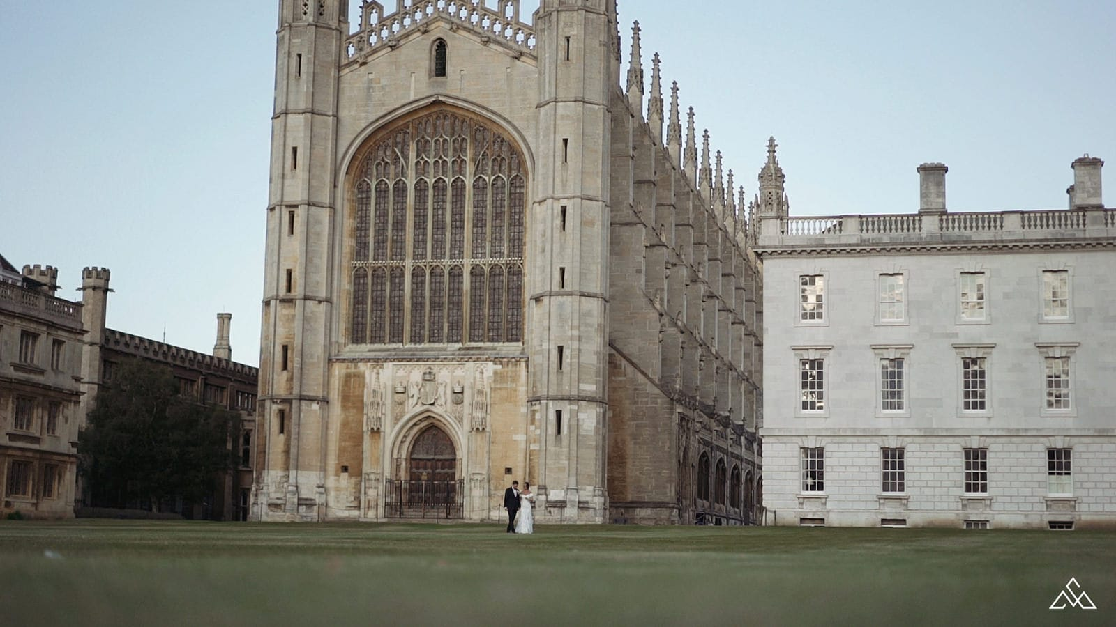Kings College Cambridge Wedding Film Nils and Danielle