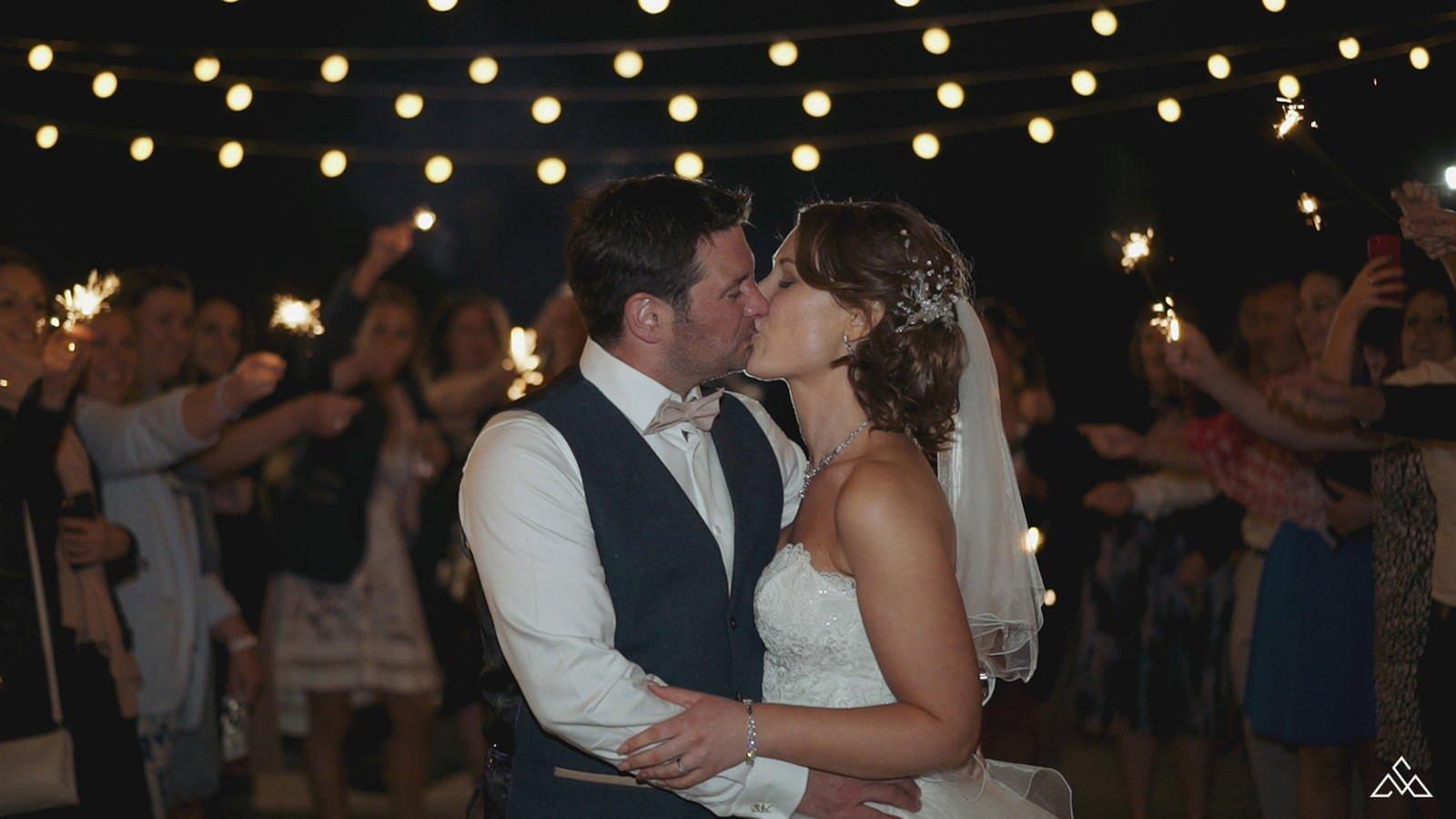 Magical Wedding Sparkler Exit