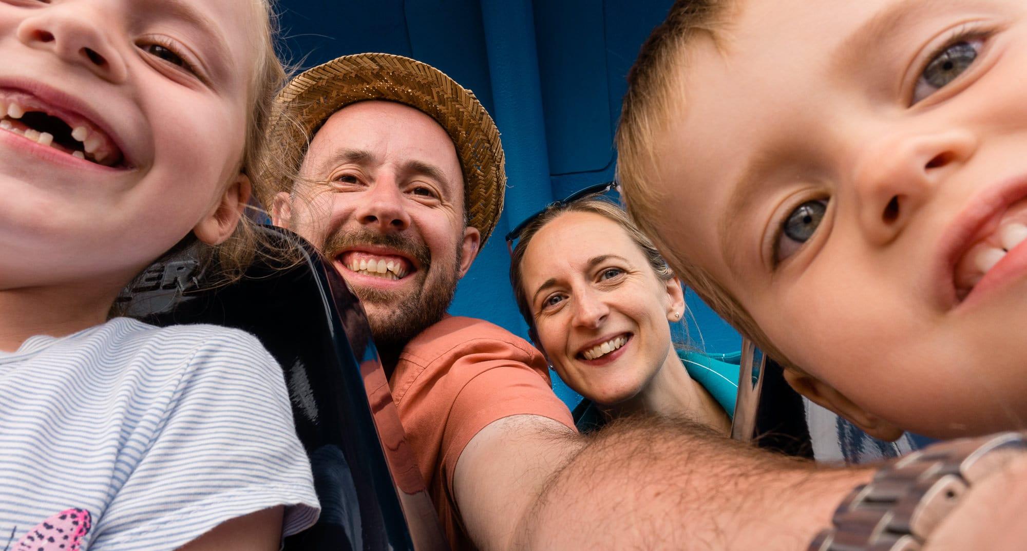 Norfolk Wedding Videographer Mike Savory and Family