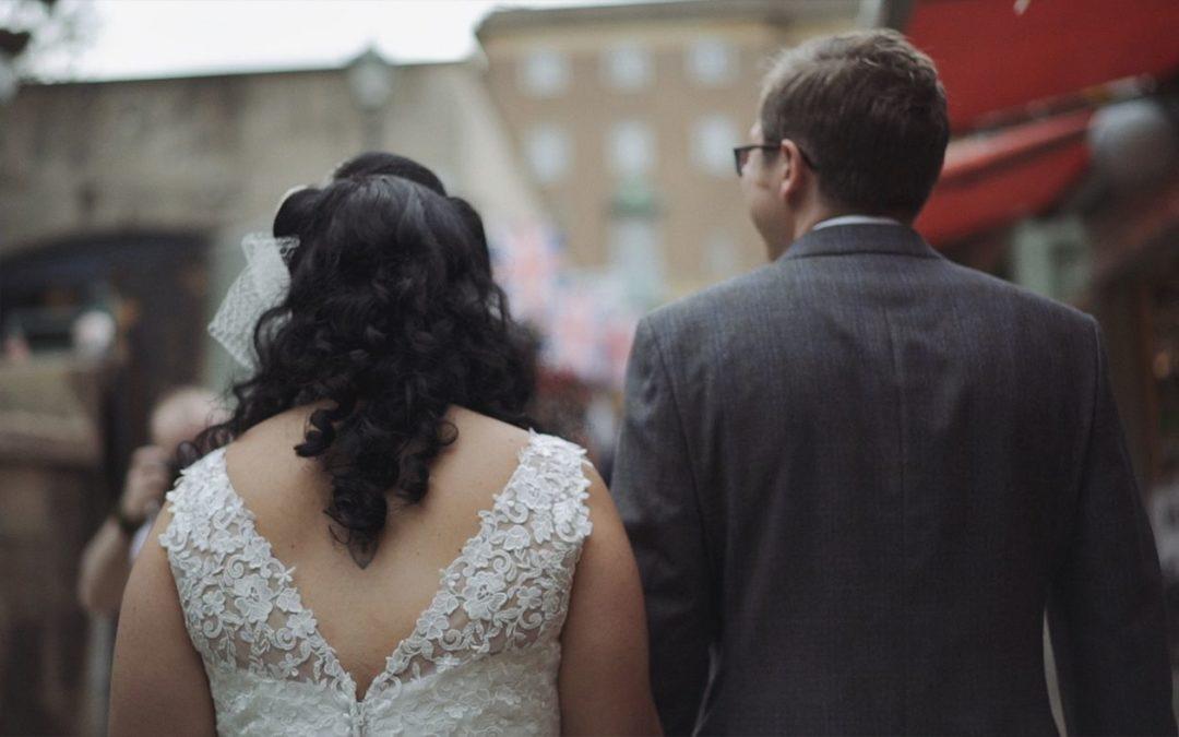Kath and David's Wedding
