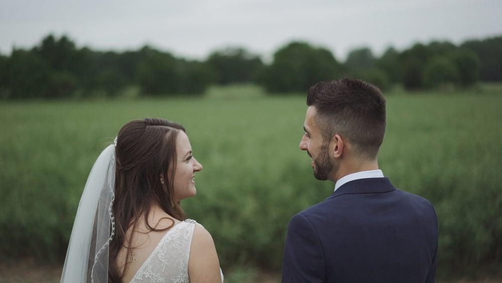 norfolk wedding videographer brasteds Catherine Colin