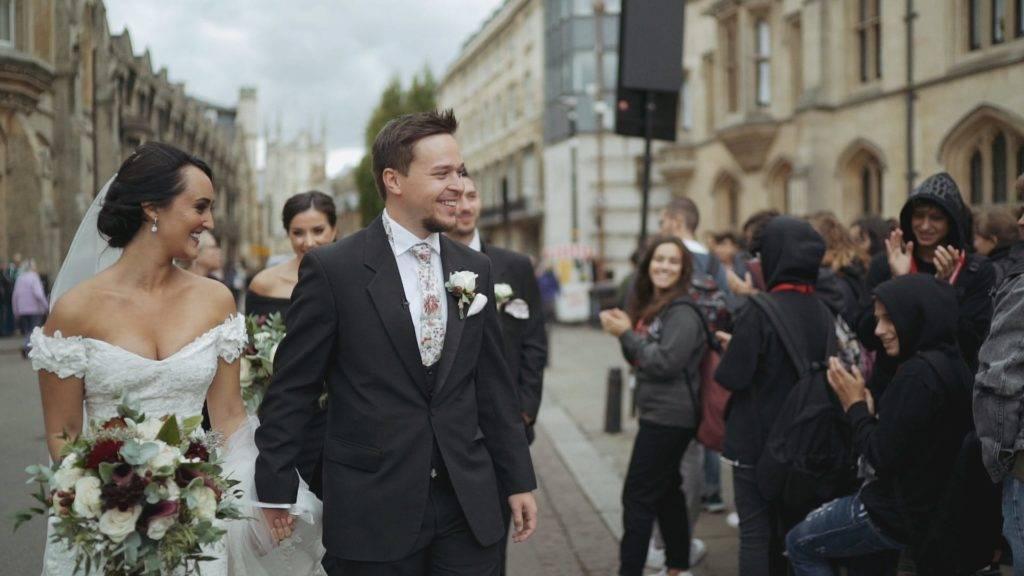 Cambridge Wedding Videographer Kings College Danielle Nils