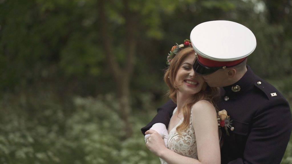 Suffolk wedding videographer elms barn jess james