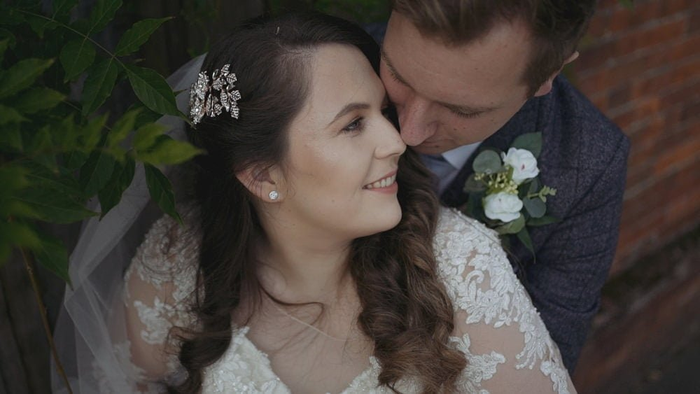 norfolk wedding videographer glebe farm barn joely tim