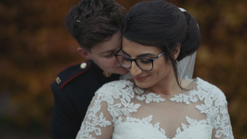 An Epic Autumn White Dove Barns Wedding Video – Mafalda + Sian