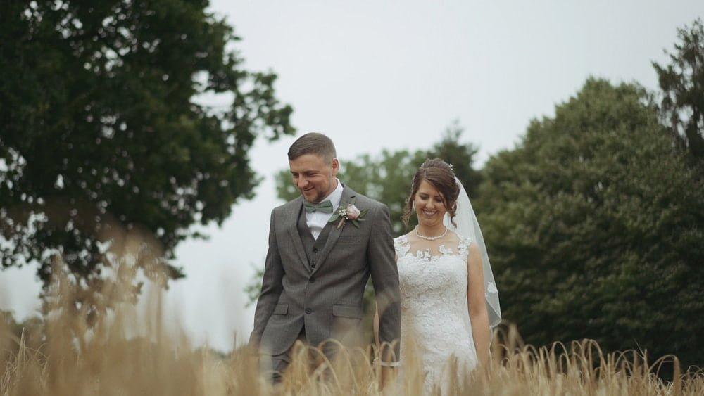 norfolk wedding videographer fishley hall megan dan