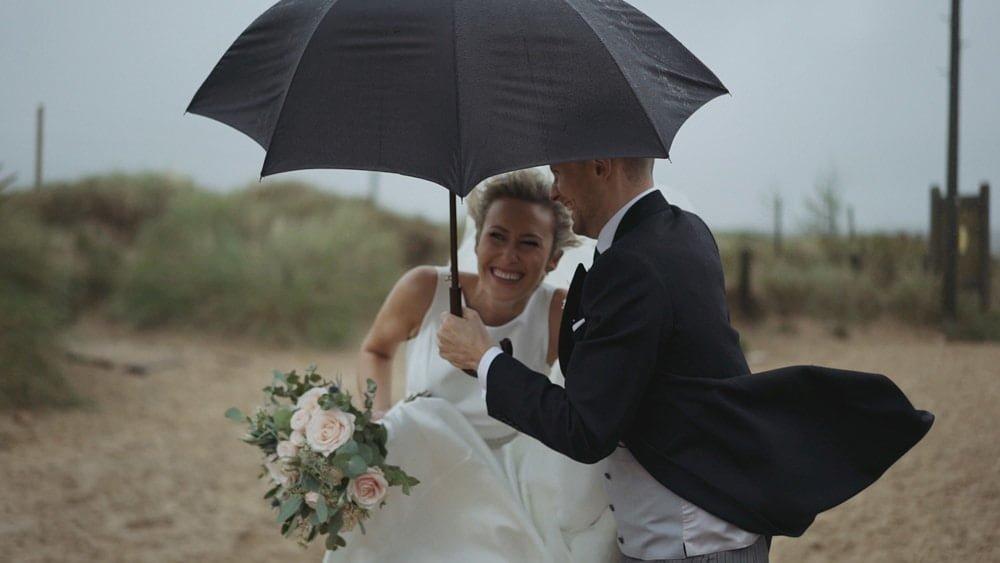 A Beautiful Beach Titchwell Manor Wedding Video – Rebekah + Marcus