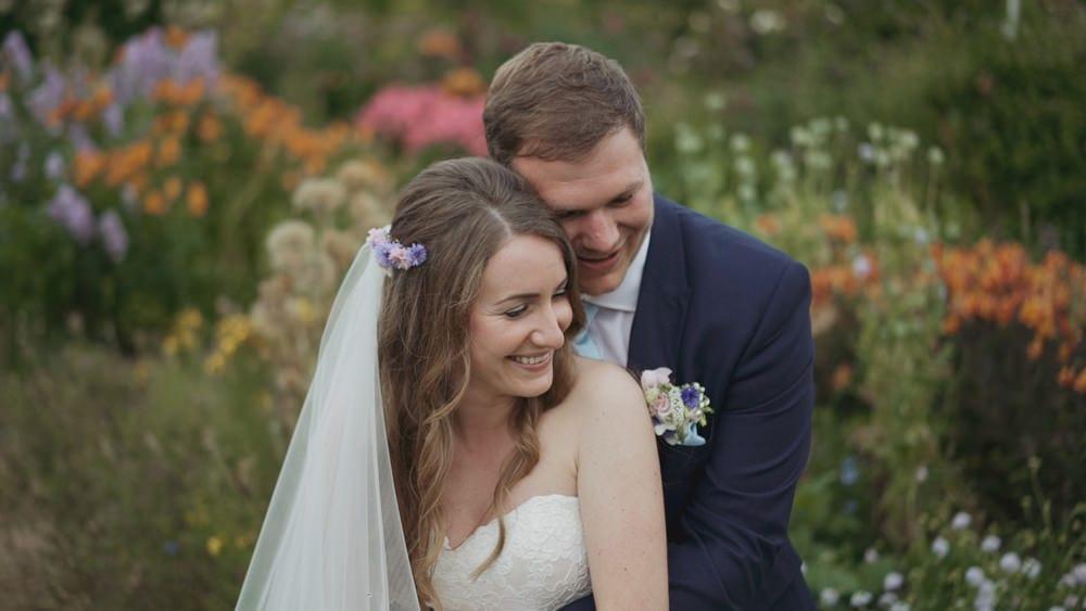 norfolk wedding videographer east ruston gardens christy harry