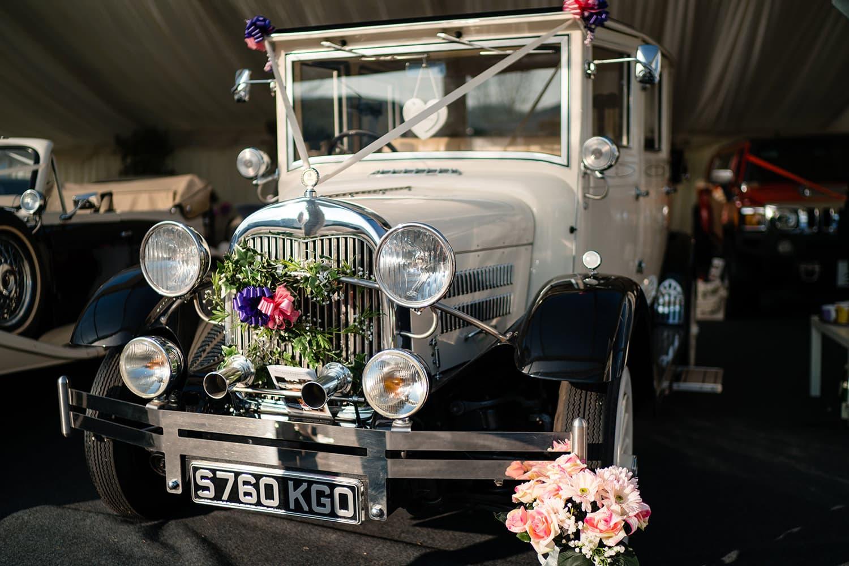 Gorgeous Norfolk Wedding Transport