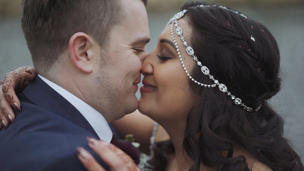 norfolk wedding videographer oxnead hall saanj mick