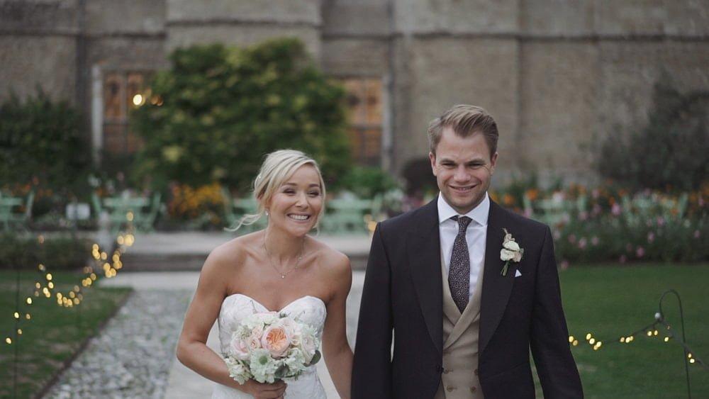 suffolk wedding videographer hengrave hall kate ben