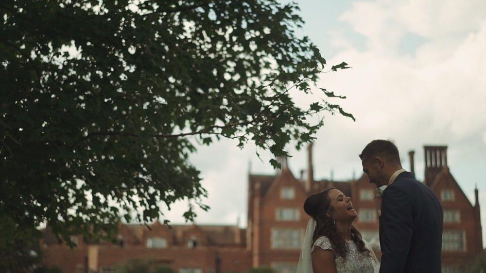 norfolk wedding videographer dunston hall leah dale
