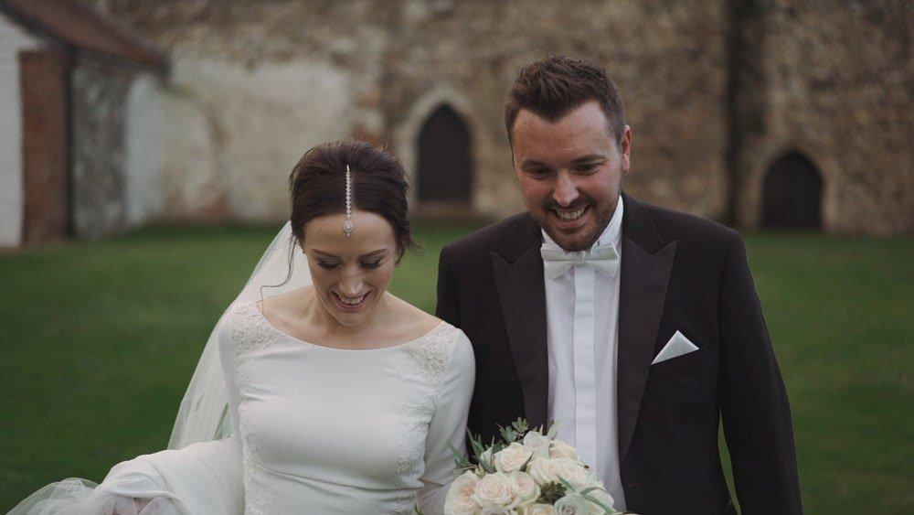 norfolk wedding videographer langley abbey lucy tom