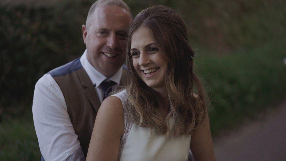 norfolk farm wedding videographer kelly phil