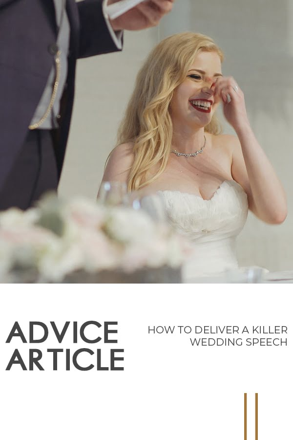 Deliver Killer Wedding Speech