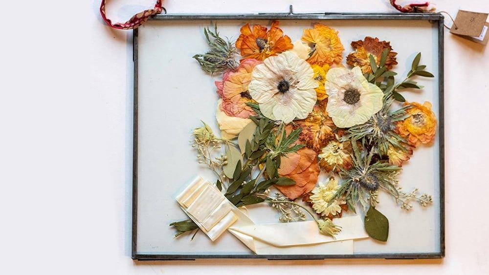 Wedding Bouquet Metal Frame