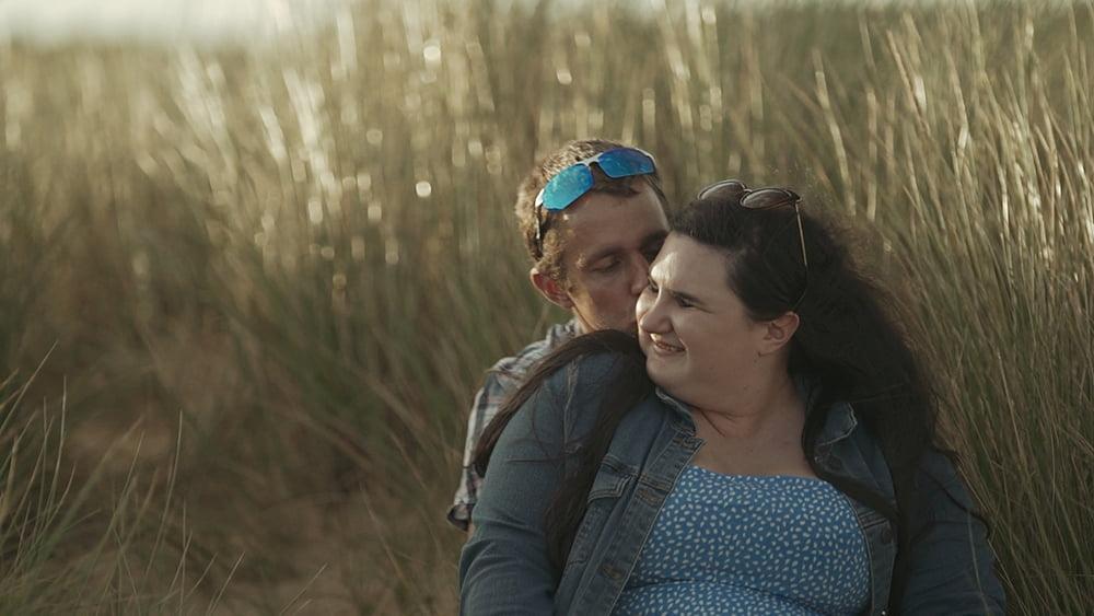 An Epic Covehithe Beach Engagement Shoot – Amaia + Martin