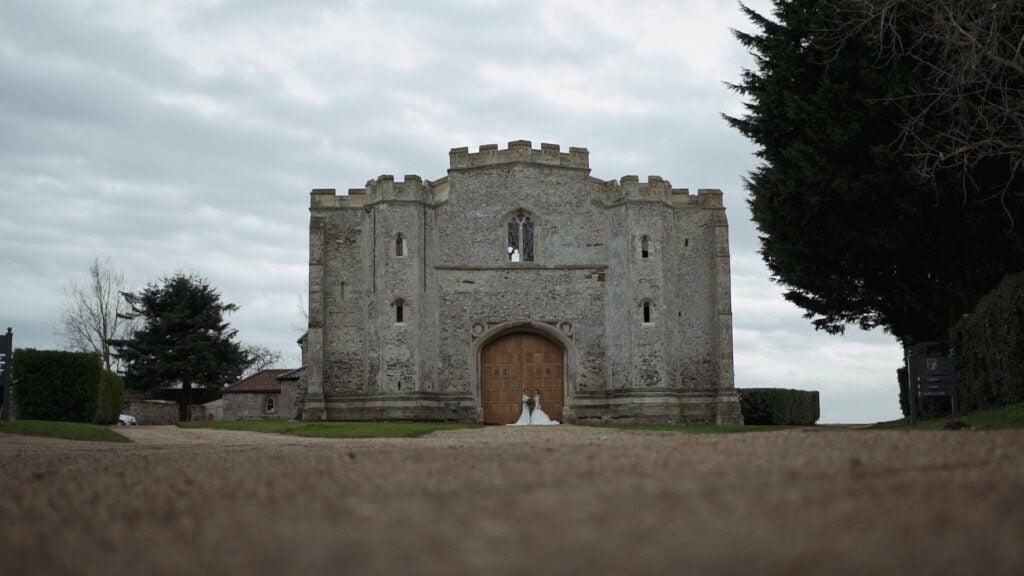 Pentney Abbey Wedding Videographer